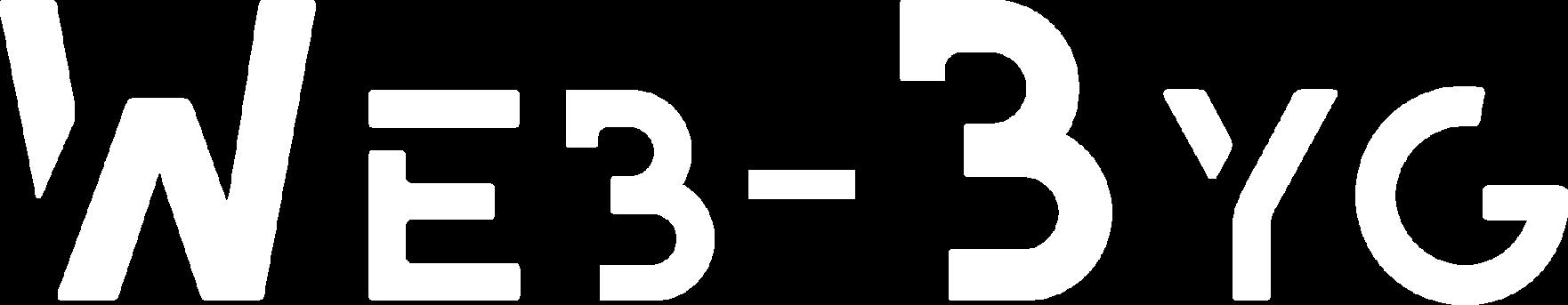 Web-Byg logo hvid